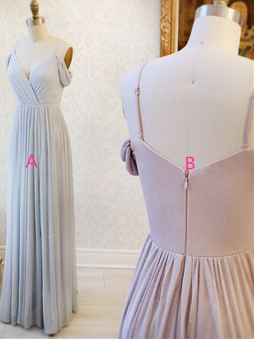 Light Blue/Pink Off the Shoulder Prom Dresses , Off Shoulder Light Blue/Pink Formal Evening Bridesmaid Dresses
