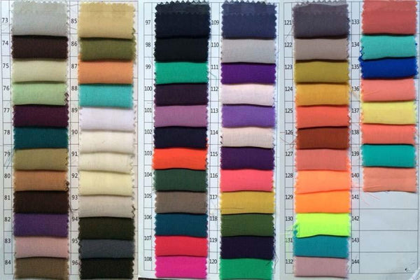 Custom Made Round Neck High Low Prom Dresses, High Low Formal Dresses Color Chart 2
