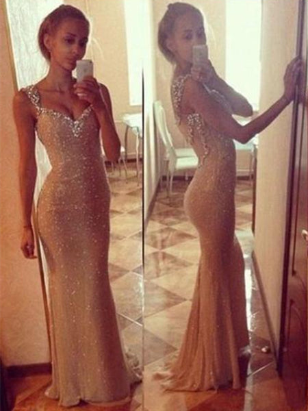 Sweetheart Neck Long Prom Dresses, Long Formal Dresses