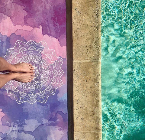 Bliss & Balance Purple Rain Yoga Mat