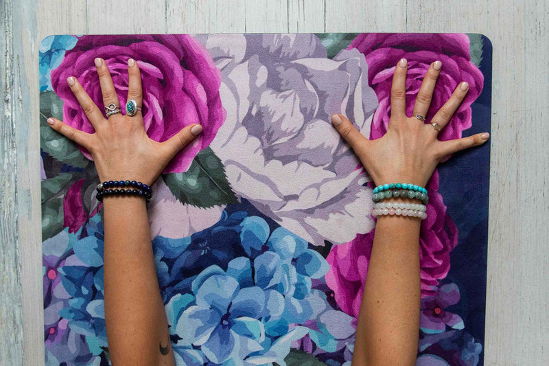 IN BLOOM YOGA MAT - Bliss & Balance