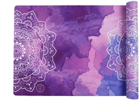 PURPLE RAIN YOGA MAT - Bliss & Balance