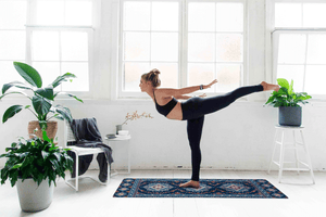 SILK ROAD YOGA MAT