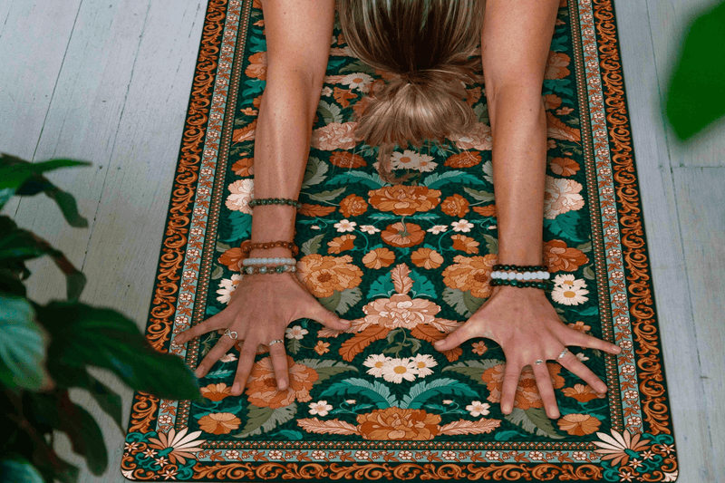 SECRET GARDEN YOGA MAT