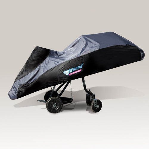 Kart Cover Black & Grey With Bag