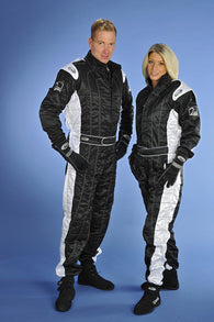 Speed Level 2 CIK/FIA Suit Black/White Size - 170/176