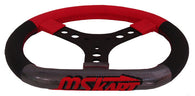 MS Kart Steering Wheel - Diesis Model - Red & Black