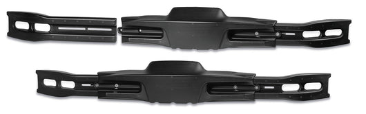 RS3 Adjustable Rear CIK Bumper - Black