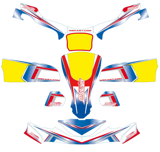 2014 Sticker Kit - Complete Suit FP7 Style