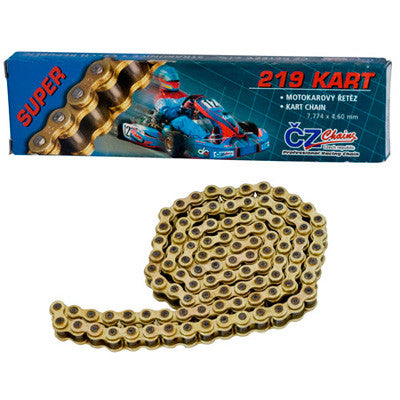 COMBO DEAL 1x CZ Chain & 1x 219 Pitch Alloy Sprocket for $70.00