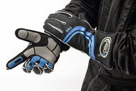 Speed Sirius Black/Blue Gloves Size-11