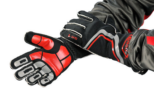 Speed Sirius Black/Red Gloves Size-11