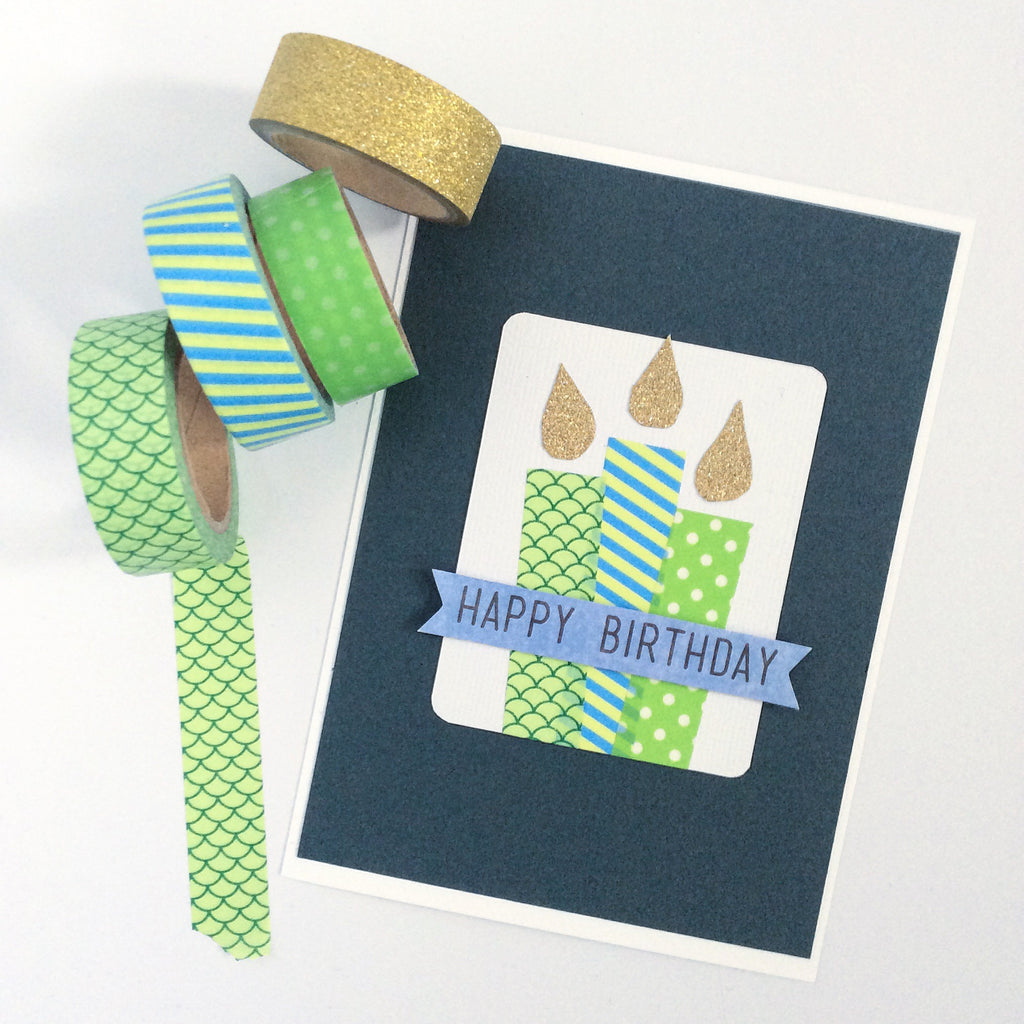 Easy Washi Tape Card