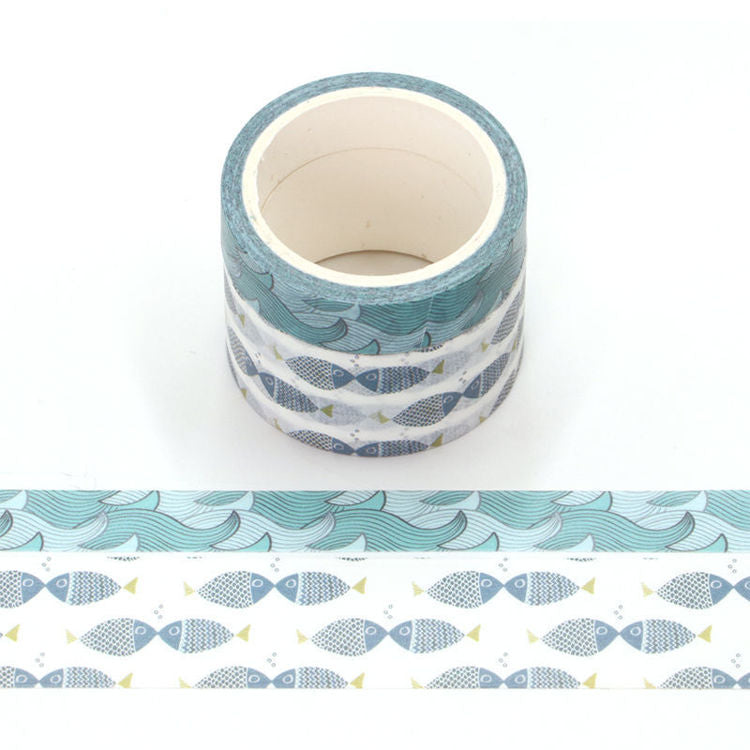 Ocean Washi Tape Set - Scratch and Sniff