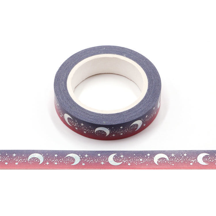 Washi Tape, Slim Moon Holo