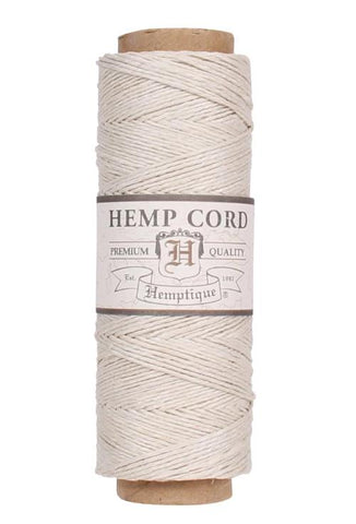 Hemp Cord Spool #10 - Natural