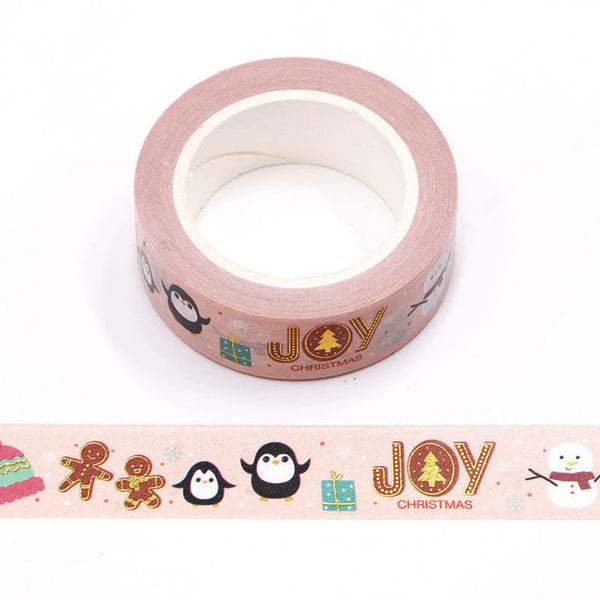 Washi Tape Foil Christmas Joy