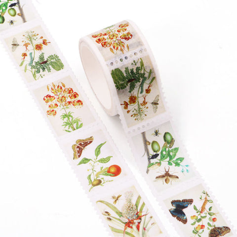Washi Tape, Flora & Fauna Stamps