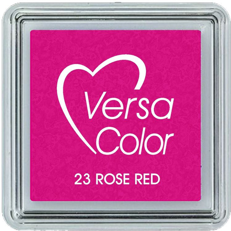 VersaColor Pigment Mini Ink Pad - Rose Red