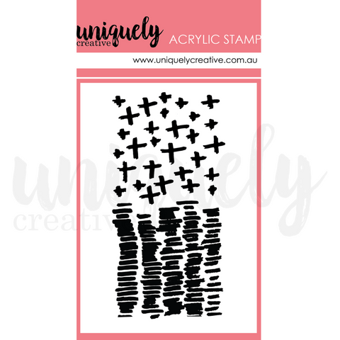 UC1786 Arithmetic Mark Making Stamp - Acrylic