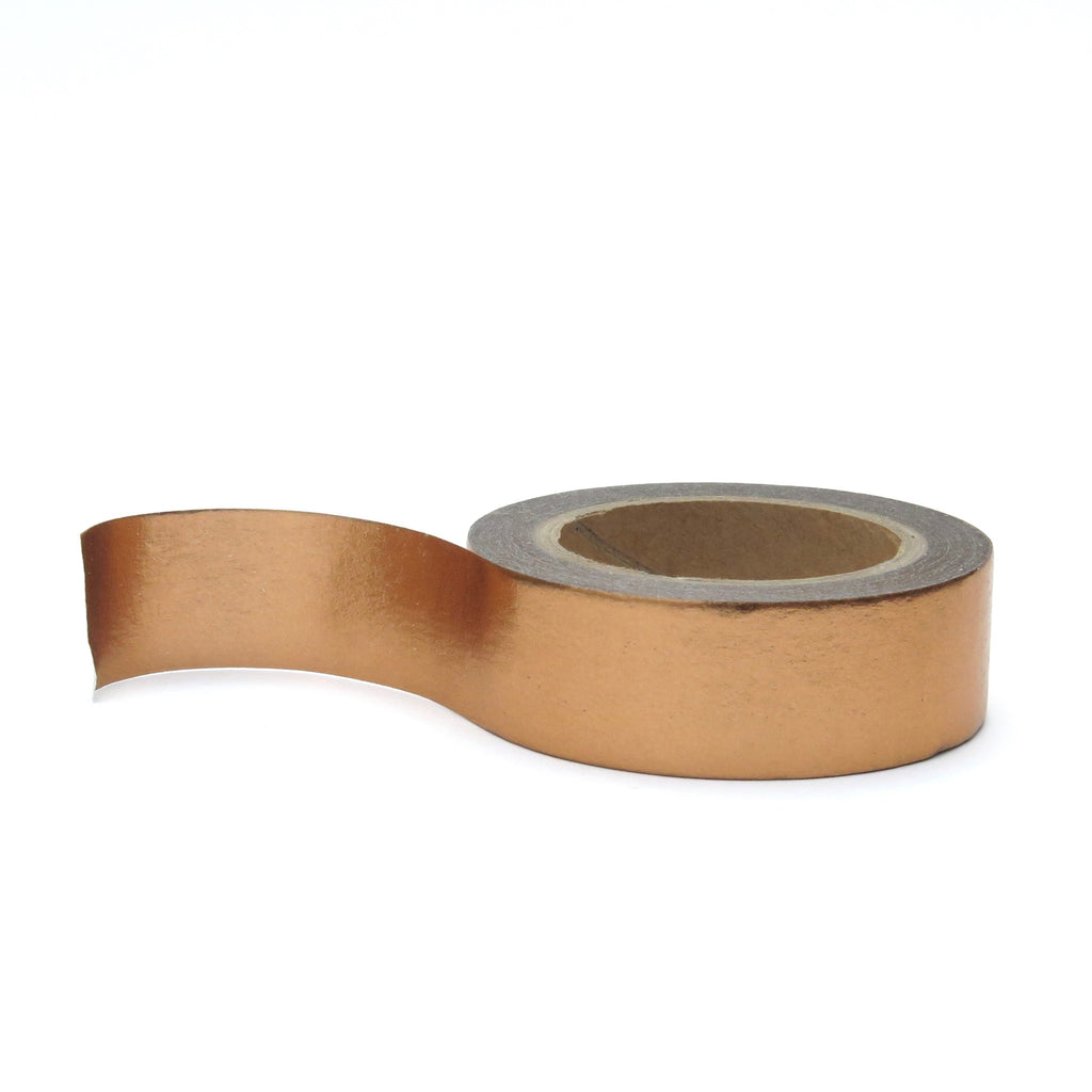 Rose Gold Washi Tape Solid Colour