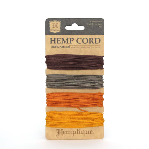 Harvest Hemp Cord Card