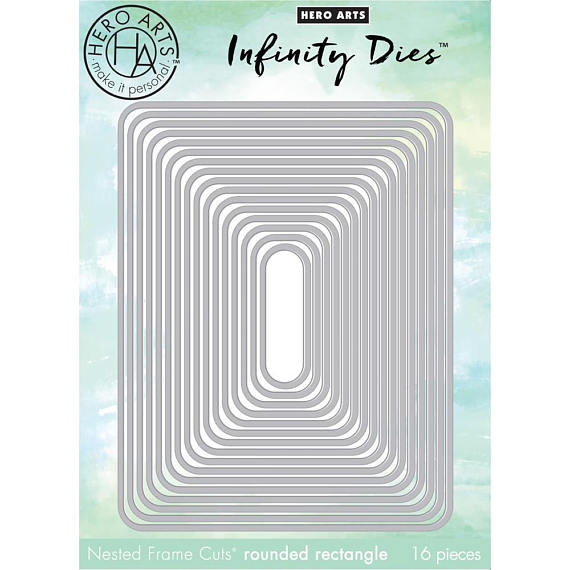 Hero Arts Infinity Dies Rounded Rectangle