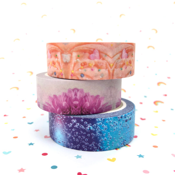 Hobby Hoppers x desleyjane plans Washi Tape - Frosting