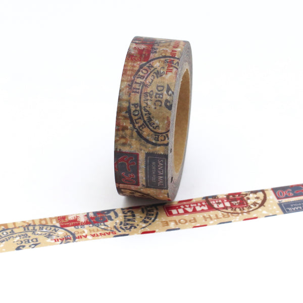 north pole washi tape