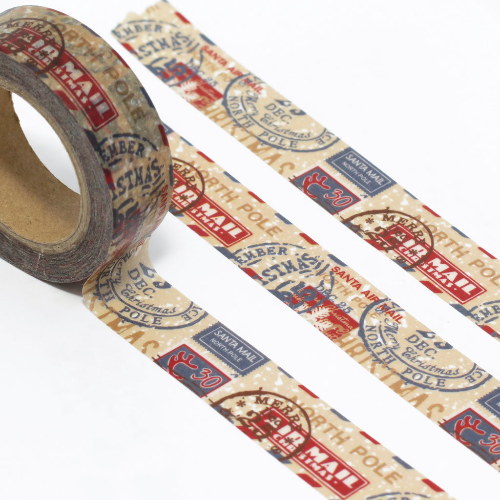 travel christmas washi tape