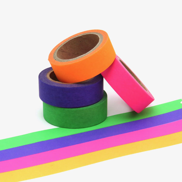 Bright Neon Tapes for Party Decoration