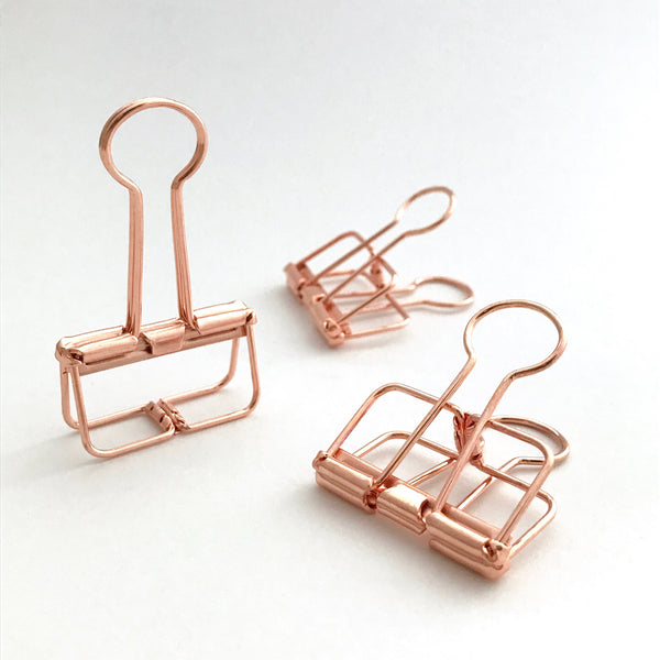 Copper Skeleton Clips