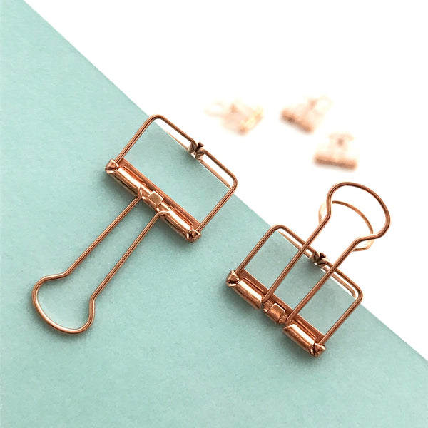 Copper Planner Clips