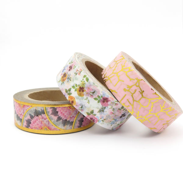 Washi Tape Floral Set