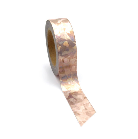Gilded Foil Washi Tape Rose Gold