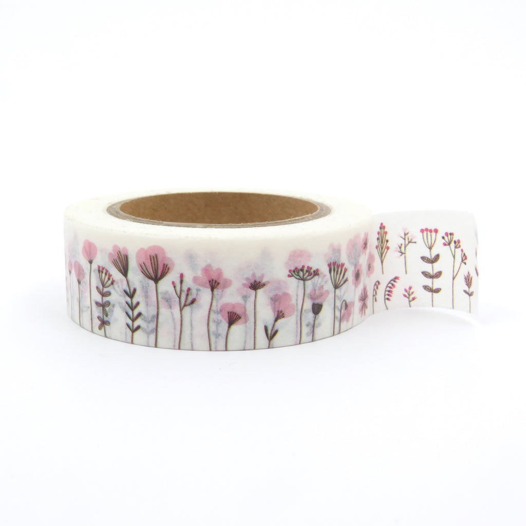 Washi Tape Field of Flowers