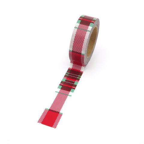 Christmas Tartan Washi Tape