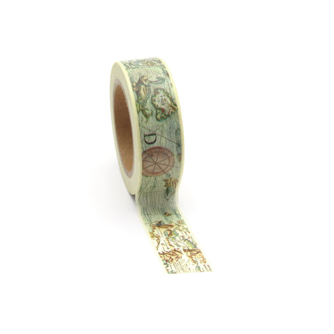 Washi Tape, World Map