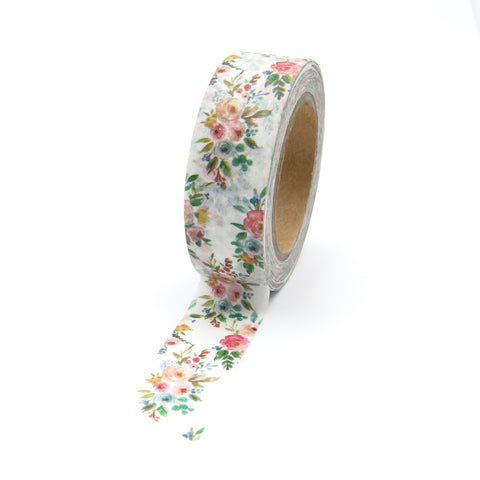 Floral Washi Tape, Vintage Bouquet