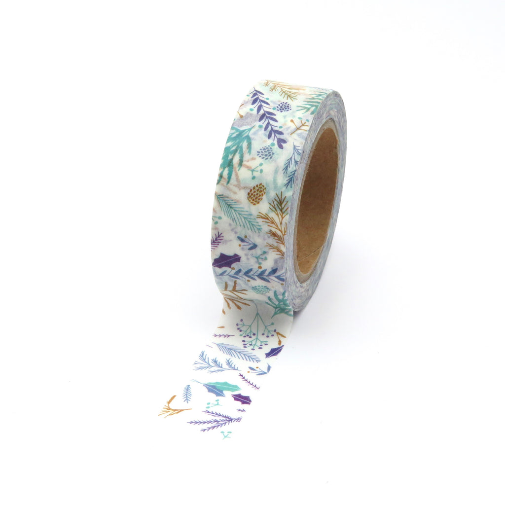 Leafy Foliage Washi Tape
