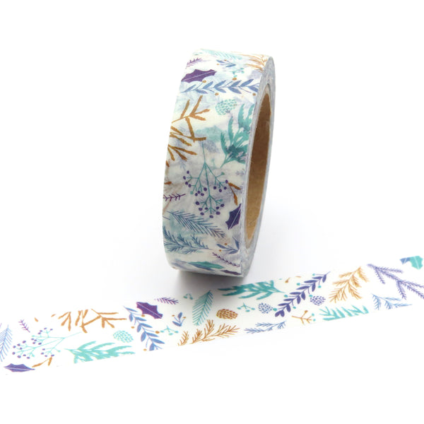 Washi Tape, Leafy Branches