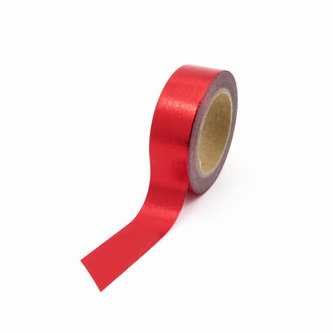 red foil Washi Tape