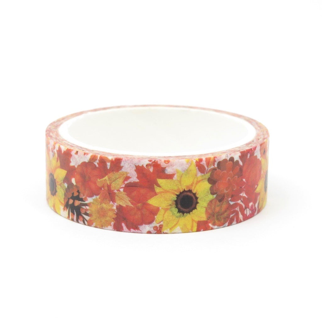 Washi Tape Sunflower