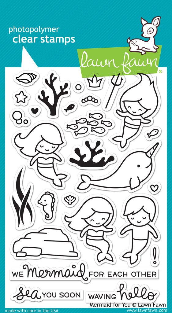 LF1167 - Mermaid For You Stamp Set