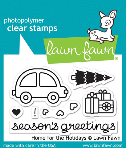 LF1220 - Home for the holidays - Stamp Set