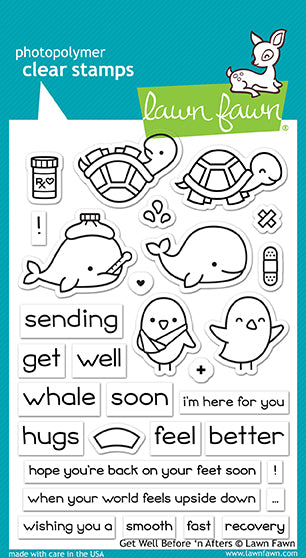 Get Well Soon Before n Afters Stamp set!