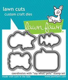 Say What? Pets Dies - Lawn Cuts LF1963