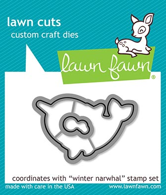 Winter Narwhal Lawn Cuts LF2039