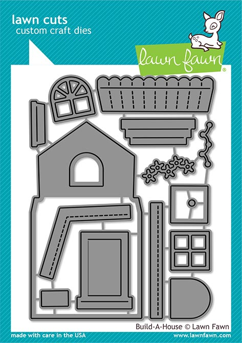 Lawn Fawn Build a House Cuts LF2046