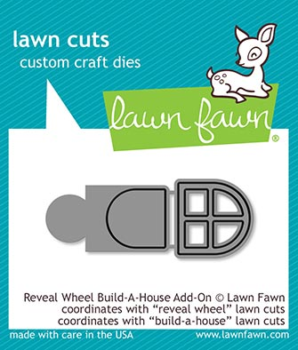 Lawn Fawn Reveal wheel build-a-house add-on LF2049
